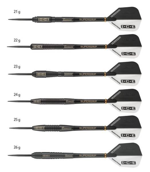 Rzutki Harrows Black ICE 90% Steeltip